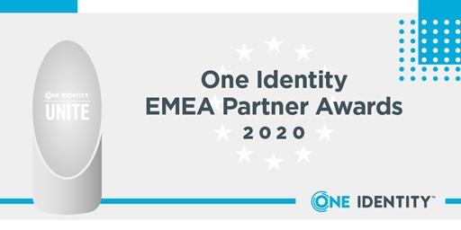 One Identity EMEA Partner Awards 2020 -- WINNERS