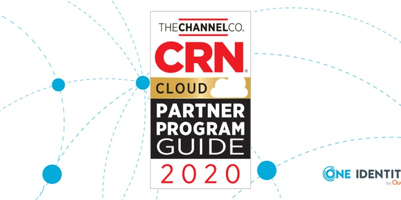 One Identity Named in CRN's 2020 Cloud Partner Program Guide