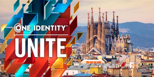 Make the time to attend One Identity UNITE in Barcelona, Spain
