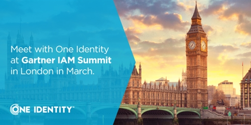 Here's your best opportunities to meet with us at Gartner IAM Summit, London