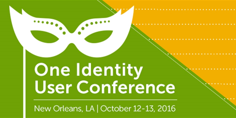 Join us for the One Identity User Conference