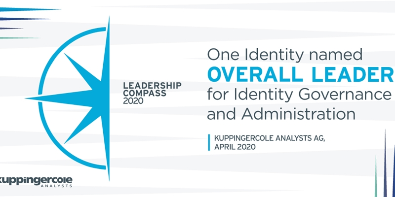 One Identity Manager named a Leader in KuppingerCole Leadership Compass for IGA