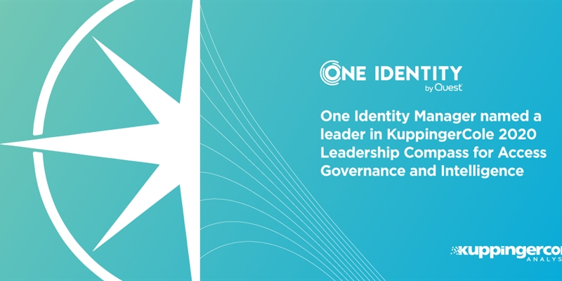 One Identity Manager named a Leader in KuppingerCole 2020 Leadership Compass