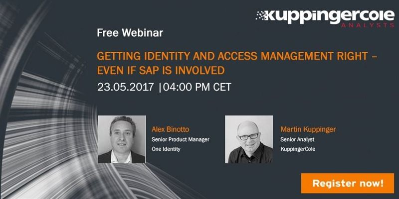 Getting Identity and Access Management Right – Even If SAP Is Involved