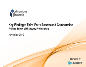 Complete 2019 Global Survey Report for Third-Party Access