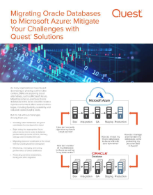 Mitigate your Oracle Migration to Azure Challenges with Quest® Solutions
