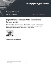 Digital Transformation Why Security and Privacy Matter