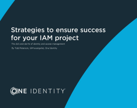 """Strategies to ensure success for your identity and access management (IAM) project"""