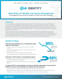 Executive Brief: Global Survey Results 2019 – Pass the Hash Attacks