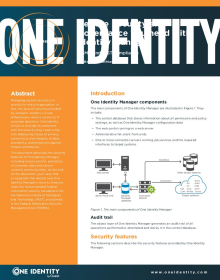 Get the Security and Governance you need with Identity Manager