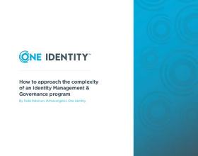 How to approach the complexity of an Identity Management & Governance program