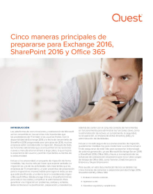 Las cinco principales maneras de prepararse para Exchange 2016, SharePoint 2016 y Office 365