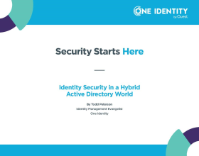 Security Starts Here – Active Directory Account Lifecycle Management