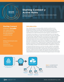 Starling Connect and Active Roles: Abastecimiento descendente de aplicaciones en la nube a través de Active Directory