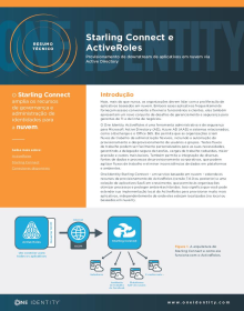 Starling Connect and Active Roles: Provisionamento de downstream de aplicativos em nuvem via Active Directory