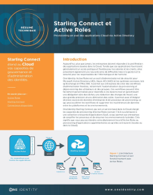 Starling Connect and Active Roles: Provisioning en aval des applications Cloud via Active Directory
