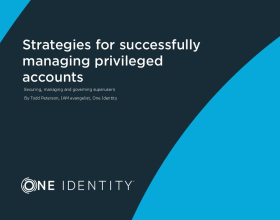 Strategies for successfully managing privileged accounts