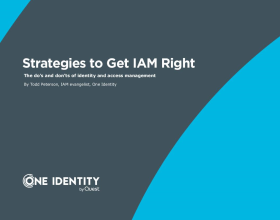 Strategies to Get Identity and Access Management (IAM) Right