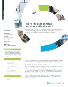 City of Frankfurt: Work-life realignment for local authority staff