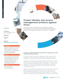 For NAMNV- Proper identity and access management protects against fraud