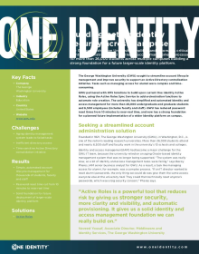 GWU simplifies and automates identity and access management across multiple campuses