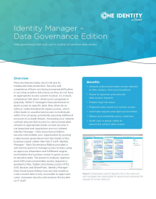 Identity Manager Data Governance Edition