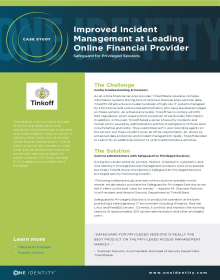 Improved Incident Management at Leading Online Financial Provider