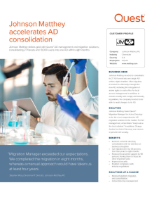 Johnson Matthey accelerates AD consolidation