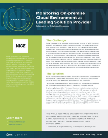 Monitoring Privileged Access to Managed Service Provider's Cloud Environment