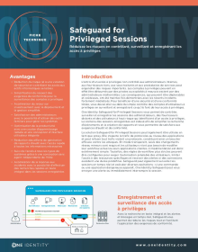 One Identity Safeguard for Privileged Sessions