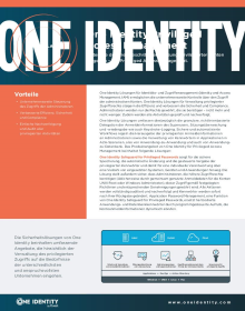 One Identity Privileged Access Management