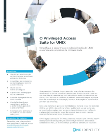 Privileged Access Suite for Unix