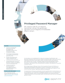 Privileged Password Manager