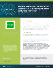 Secure Privileged Access for Outsourced Workforce at Leading Russian Software Provider