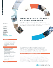Swiss Post: Taking back control of identity and access management