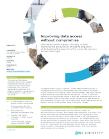 The Macao Water Supply Company Limited: Improving data access without compromise