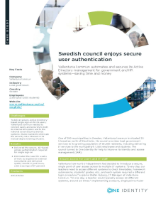 Vallentuna kommun: Swedish council enjoys secure user authentication