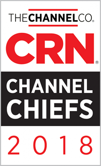 CRN's Channel Chief 2018 award