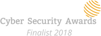 Cyber Security Awards Finalist 2018