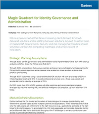 Gartner has named One Identity a Leader in its 2019 MQ for Identity Governance and Administration.