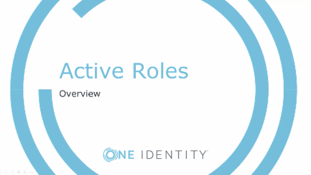 Administration with Active Roles