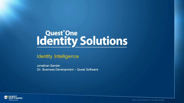 Building Identity Intelligence into Your IAM Framework
