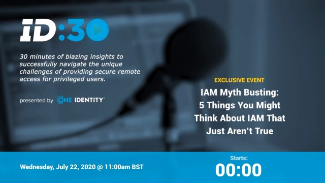 IAM Myth Busting: 5 Things You Might Think About IAM That Just Aren't True