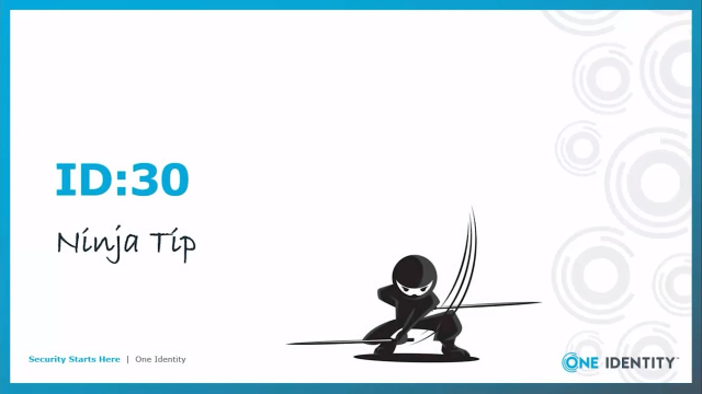 Ninja Tip: Identity Management and Security for Terminations