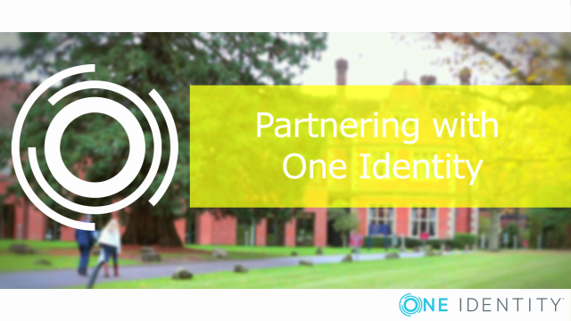 Partnering with One Identity