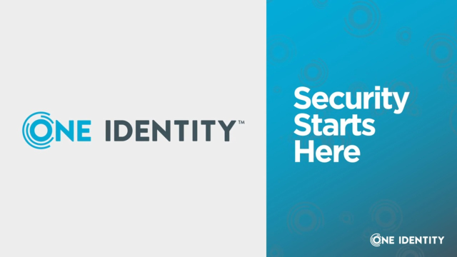 Security Starts with Identity